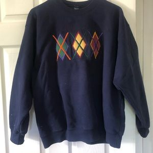 Cool Graphic Crew Neck Sweater :)